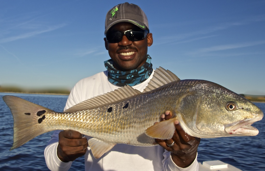 sight fishing redfish in Hilton Head SC