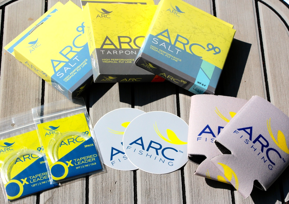 Arc Fly Line for Redfish