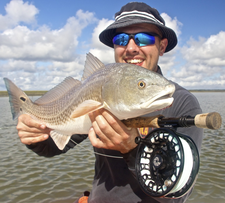 fly fishing guide in the hilton head area